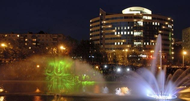 Der Lenin-Platz. Foto: Itar Tass
