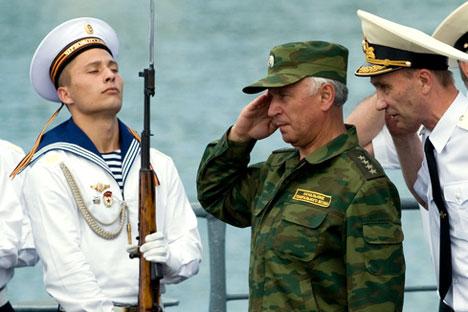 El jefe del Estado Mayor del Ejército ruso general Nikolái Makárov. Foto de Ria Novosti