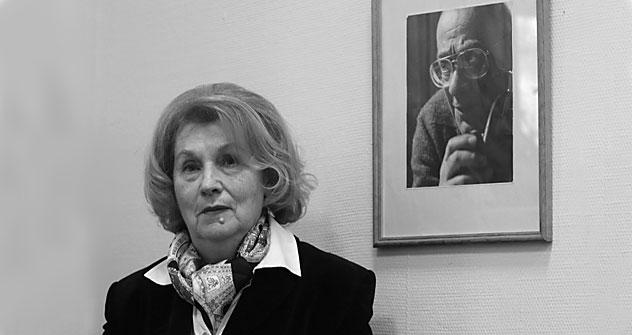 Deutsche Philosophie ist die große Leidenschaft von Nelly Motroschilowa.