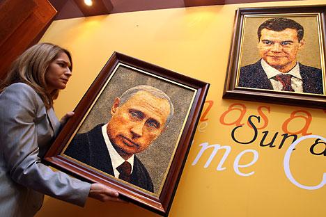 Las apariciones públicas de Medvédev y Putin indican que la campaña electoral ha comenzado. Foto de AFP/East News