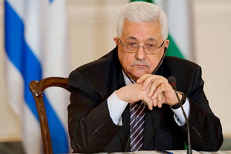 Palestinian leader Mahmoud Abbas. Source: AFP/East news