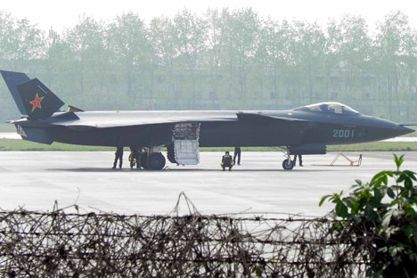 J-20 Black Eagle.   Source: AP