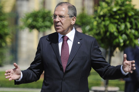 Sergei Lavrov.   Source: AFP/East-News