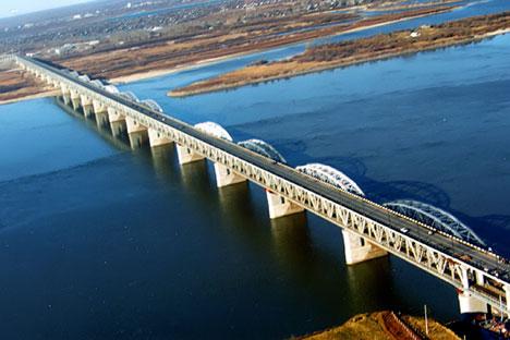 ハバロフスク橋=タス通信