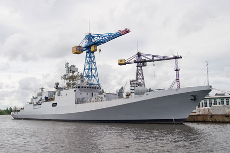 'Teg', the frigate of the Project 11356.   Source: Itar Tass