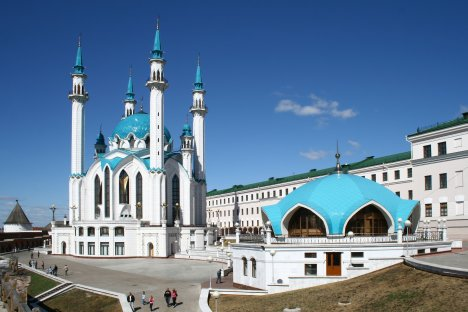 Mosque in Kazan, the capital of Tatarstan.   Source: Lori / Legion media