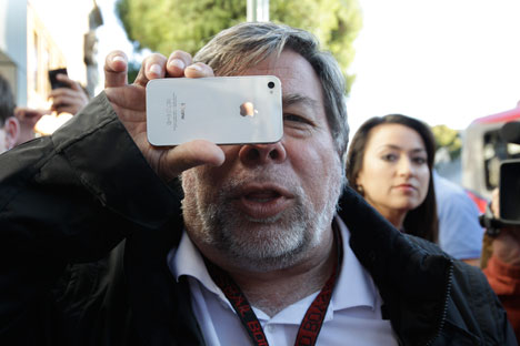 Steve Wozniak belives in GLONASS. Source: AP