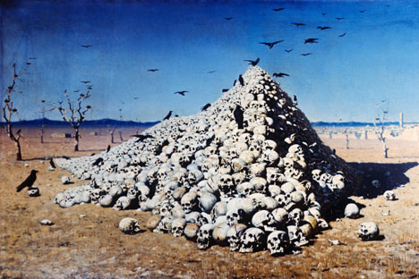 'The Apotheosis of War', Source: RIAN