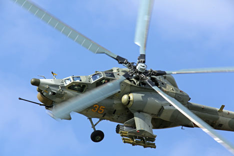 "Mi-28N ""Night Hunter"" is not going to fly in Indian sky. Source: ITAR-TASS"