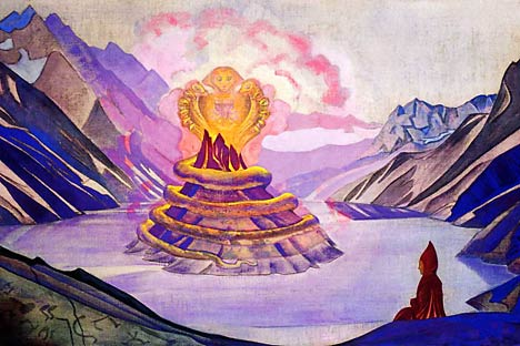 N.Roerich. Nagardjuna conqueror of the serpent.