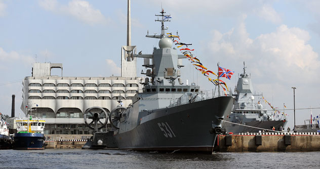 The Soobrazitelny is the second Project 20380 or Steregushchy class corvette. Source: TASS