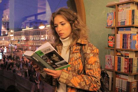 ロシアの読者は「本格的な」文学に注目するようになった=PhotoXpress撮影