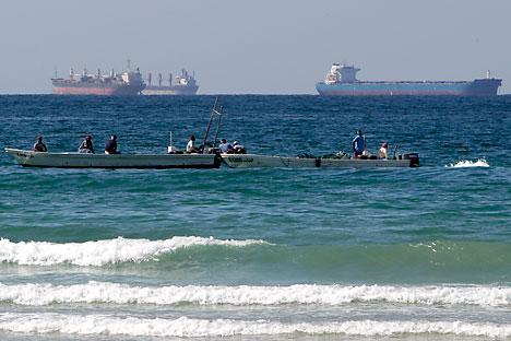 Strait of Hormuz. Source: AP