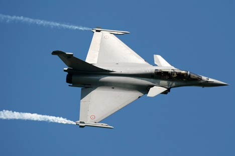 Choosing the Rafale will signify for India further cementing defense ties with France. Source: AP