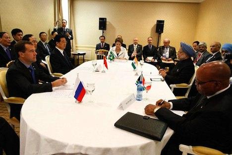 BRICS-Gipfel in Cannes. Foto: kremlin.ru