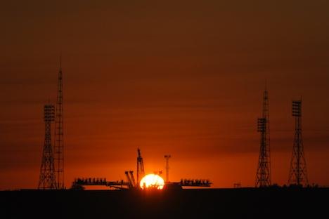 Baikonur Weltraumbahnhof. Foto: NASA