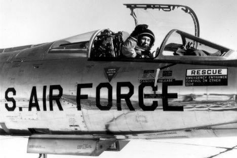 Chuck Yeager, the legendary test pilot kicked up a diplomatic storm in a war situation.
