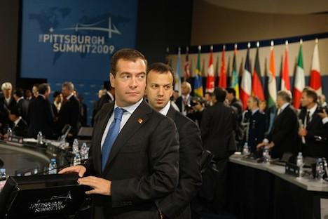 Dworkowitsch ist seit Mai 2008 Berater des Präsidenten Medwedjew .Foto: www.kremlin.ru