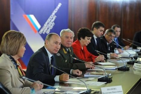 Wladimir Putin war einer der Ideologen der ANF. Foto: premier.gov.ru