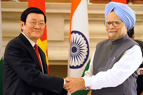 One of the highlights of the visit of the Vietnamese President to India was the signing of an agreement on cooperation in the field of oil and gas.Source: Getty Images / Fotobank