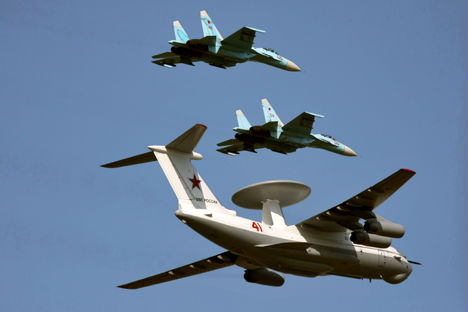 Russia had produced some 40 aircraft, based on A-50 over the decades. Source: KMO