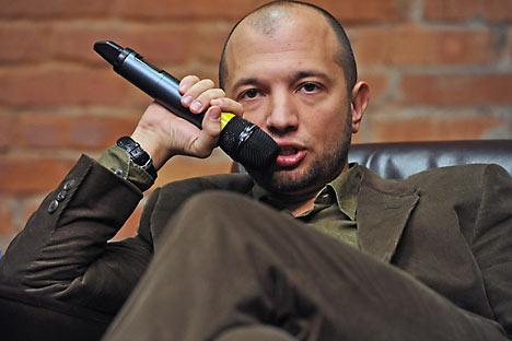 """Generaldirektor des Verlagshauses """"Kommersant"""" 1 Kudrjawzew. Foto: Kommersant"""