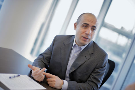 Yuri Milner, the world's most successful investor in social media and a top Russian entrepreneur. Source: AP