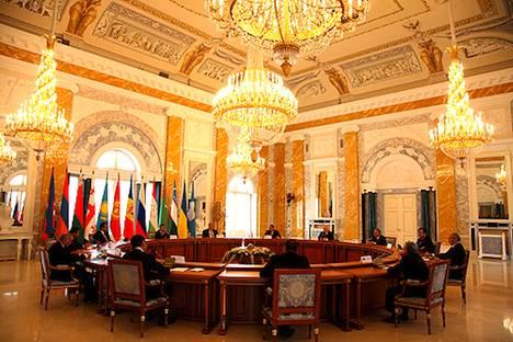 GUS-Staaten kooperieren eng. Foto: kremlin.ru