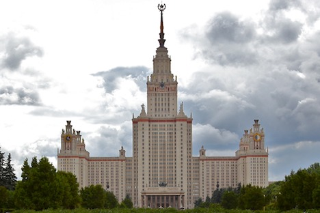 Allein die Lomonossow-Universität kostete 2,6 Milliarden Rubel - mehr als der Wiederaufbau Stalingrads. Foto:  jurvetson