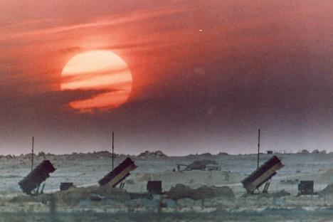 Die MIM-104 Patriot ist ein Boden-Luft-Raketen System, die die Vereinigten Staaten und 12 anderen Nationen verwenden. Foto: AFP