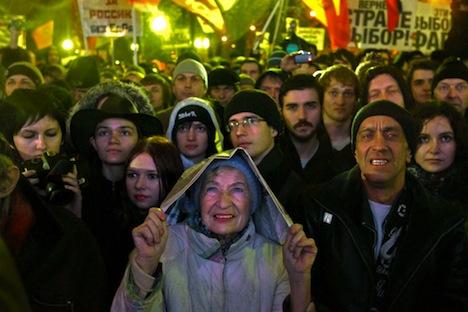 Proteste in Russland. Foto: RIA Novosti