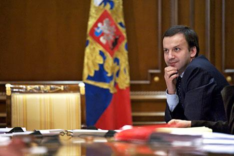 Arkady Dvorkovich, a top economic aide to President Dmitry Medvedev. Source: RIA-Novosti