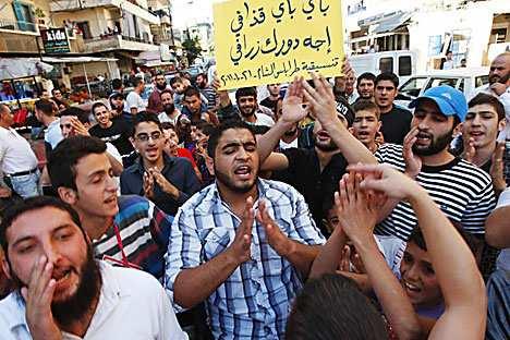 Das Volk hat keine Lust auf Diktatur. Foto: Reuters