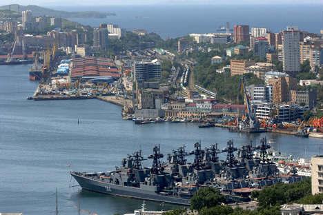Vladivostok port. Source: ITAR-TASS