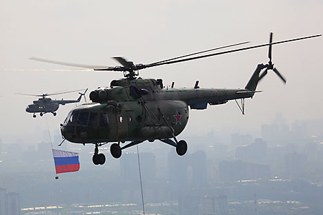 India is one of the world's largest Mi-8 and Mi-17 operators with over 200 aircraft in service. Source: ITAR-TASS
