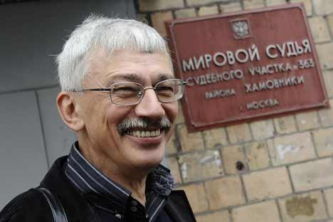 Oleg Orlov. Foto de Itar-Tass