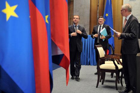 La 27ª cumbre Rusia-UE celebrada en Nizhni Nóvgorod. Foto de Kommersant