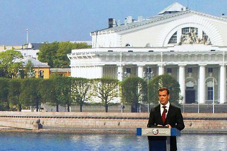 Según el Presidente las regiones deberían contar con más recursos y responsabilidad. Foto de Itar-Tass