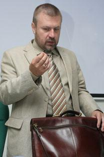 Kirill Kabánov, el presidente del Comité Nacional Anticorrupción. Foto de PhotoXpress