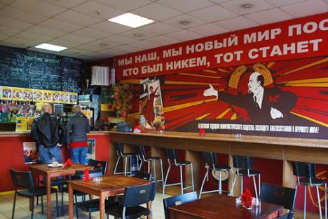 Cheburechnaya, a Soviet style fast food joint, is still popular among Russians. Source: Lori/Legion Media