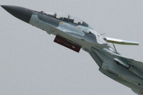 Su-30MK2 fighter. Source: RIA Novosti