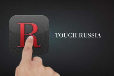 Berühr Russland. Das Ipad-App von RBTH