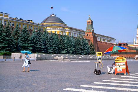 Rusia no quiere seguir siendo una incógnita en el mapa del turismo mundial y empieza a tomarse en serio el tema de la recepción de turistas. Foto de Alamy Legion Media
