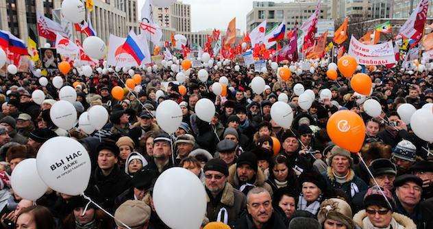 Protest in Moskau am 24. Dezember. Foto: Kirill Rudenko