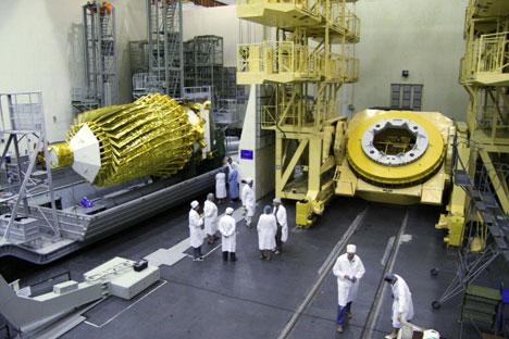 Rusia lanza un radiotelescopio 'más grande que la Tierra'. Foto de Ria Novosti