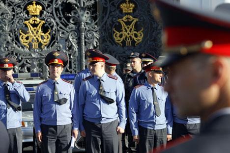 Se están haciendo reformas para crear una policía militar. Foto de Itar-Tass