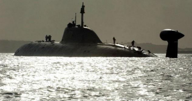 INS Chakra AKULA II Class submarine