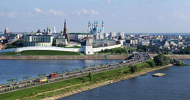 Die Gründung von Kasan, der Hauptstadt Tatarstans, geht auf das Jahr 1005 zurück. Heute ist sie ein Symbol des Religionsfriedens. Foto: Lori_Legionemedia