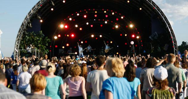 """El festival """"Usadba Jazz"""" se ha popularizado y ya no es solo para los expertos. Foto de Nikolái Koroliov"""