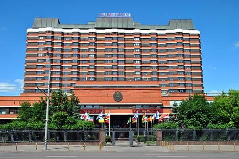 第1回アジア太平洋フォーラムを開催するプレジデント・ホテル=Lori/Legion Media撮影